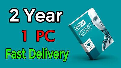 Eset Internet Security 2018 2year 1pc 100% Original fast delivery