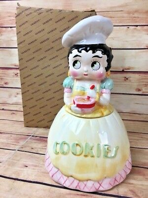 NEW RARE Vintage Betty Boop Cookie Jar 1995 - L@@K!! Vandor New Old Stock in Box