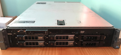 Dell PowerEdge R710 2X X5570 QC 2.93GHz 128GB RAM 4X900GB SAS 15k Perc 6i+ Rails
