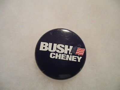 Presidential Pin Back George W Bush Campaign Button 2000 President Candidate