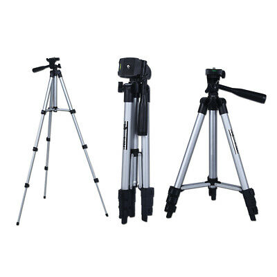 Professional Aluminum Tripod Stand Flexible for DSLR Canon Nikon Sony W/balancer