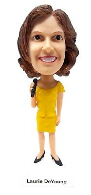 WPOC Radio Country Music DJ Laurie DeYoung Bobblehead