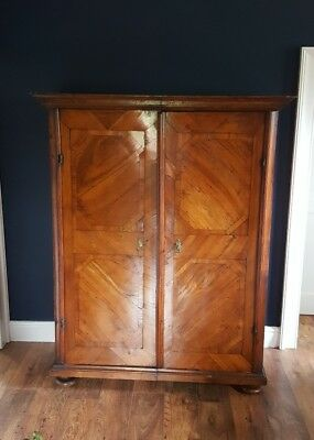 Antique Baroque Style German Armoire Wardrobe Cupboard circa 1820 est