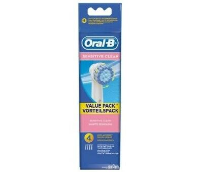 Sensitive Oral-B Toothbrush Heads Sensitive, 4 pack