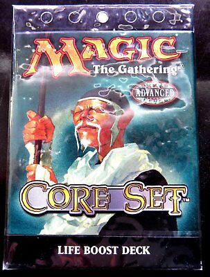 Magic The Gathering 8th Edition Core Set Life Boost Deck version anglaise bleu