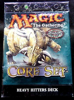 Magic The Gathering 8th Edition Core Set heavy hitter Deck version anglaise bleu