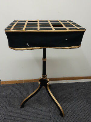 Antique Original Thayer Colonio Magician Table For Tricks Circus 1930-40