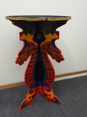 Antique Original Magician Dragon Table For Tricks Redmon & Okito 1940-50