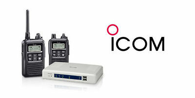 Icom Wireless Radio System Kit (Ip-1000C + Ip-100H + Bc202 + Opc-478Uc)