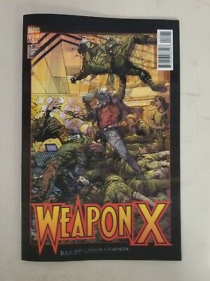 Weapon X #12 Legacy Lenticular Variant Marvel 2018 VF-NM