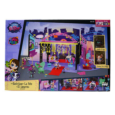 Hasbro B1241EU4 - Littlest Pet Shop Backstage Style Set