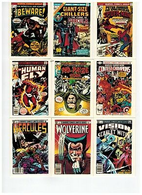 1991 Marvel Comics 1St Covers 100 Card Set 2018 Sale