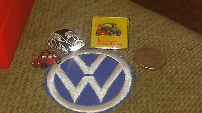 Vintage VW Volkswagen Pin Lot Patch