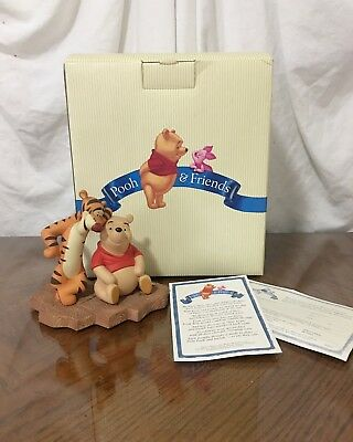 """NIB  Disney Pooh & Friends  """"Thanks for Being A Caring Sort of Bear with papers."""