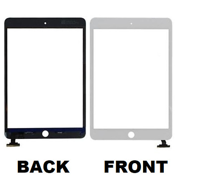 """For Apple iPad Mini 1/2/3 Digitizer Touch Screen Replacement 7.9"""" WHITE & BLACK"""