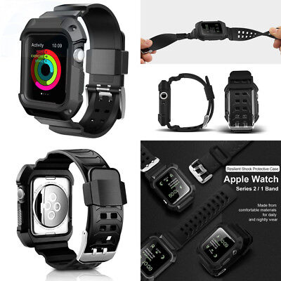 For Apple Watch Band UMTELE Rugged Protective Case with Bands for Series...