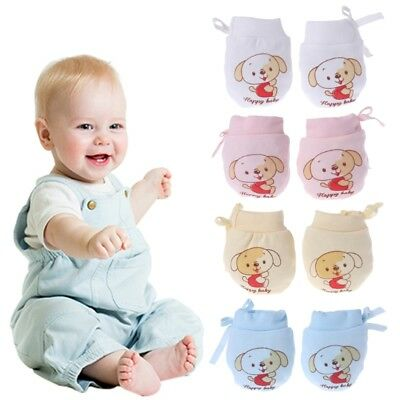 Baby Glove Anti Scratch Face Handguard Protect Newborn Soft Mitten Blend Cotton