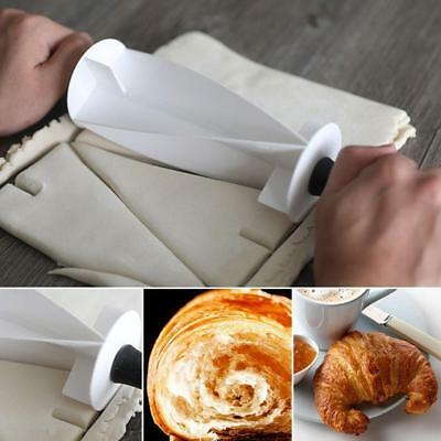 1x Croissant Pastry Roller Baking Tool for Homemade Croissants Cake Decor