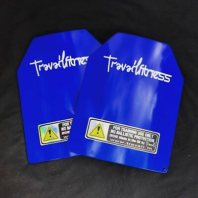 Weighted Vest Plates 14lb / 6.4kg (Pair)