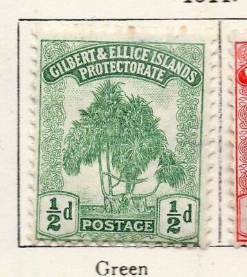 Gilbert and Ellice Islands 1911 Issue Fine Mint Hinged 1/2d. EdVII 264657