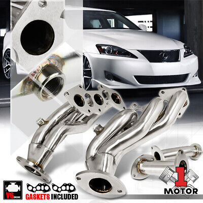 Stainless Steel Exhaust Header Manifold for 06-13 Lexus IS250 RWD/IS350 XE20 V6