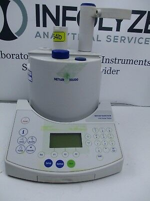 Mettler Toledo DL38 Karl Fisher Titrator for Part, No power supply