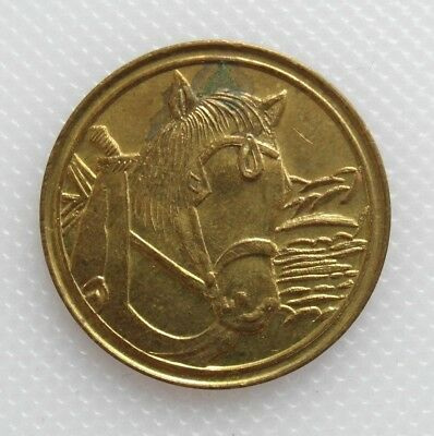 Collectable Beer Token - Webster's Yorkshire Bitter - Shire Horse