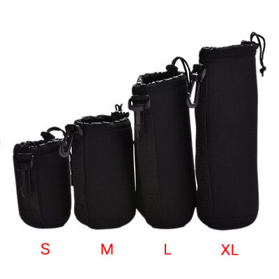 Neoprene Waterproof Soft Camera Lens Pouch Storage Bag Case Size- S M L PQ