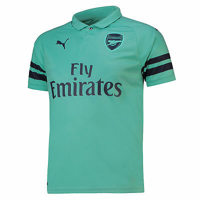 Official Arsenal Football Third Shirt Jersey Tee Top 2018 19 Outsize Mens PUMA