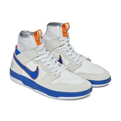 new style 4e5b2 57d55 Nike SB Zoom Dunk High Elite New Mens Size Shoes White College Blue 918287  147
