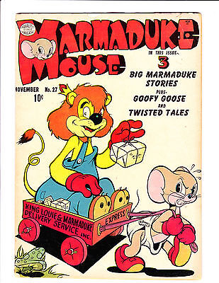 Marmaduke Mouse  No.27     : 1951 :      : Delivery Service Cover! :