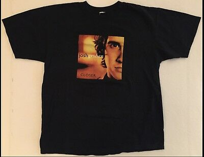 JOSH GROBAN Closer 2005 Black T-Shirt