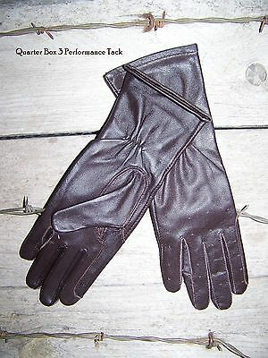SSG Dress Glove - Driving/Showmanship - Brown - Size 5