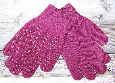 Magic Gloves - One Size Fits All - Burgundy