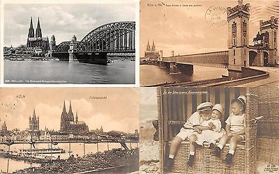 Lot of 20 Early / Vintage Cologne , Germany Postcards 7 RPPC #102477 R