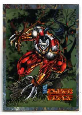Cyber Force - Stryke Force - #4 - Cards Illustrated - Ripclaw
