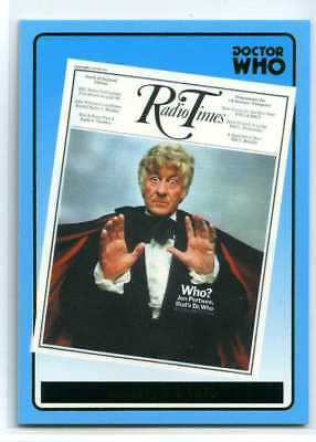 Doctor Who Radio Times Cover Card - R7 - Jan 3-9-1970