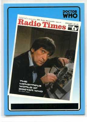 Doctor Who Radio Times Cover Card - R6 - Strictly Ink 2000 - Jan 20-26 1968