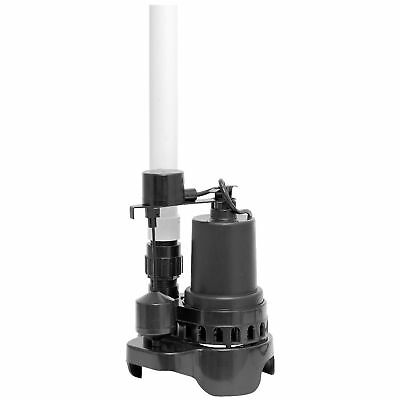 Sump Pump Quick Install Superior 92372RTGP 2880 Gallons Per Hour Float Switch Y5