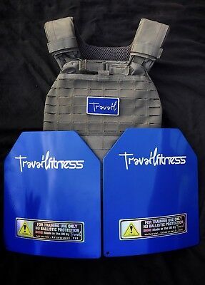 5.11 Tactec Weighted Vest With 14lb/6.4kg Travail Plates  (Choice Of Colours)