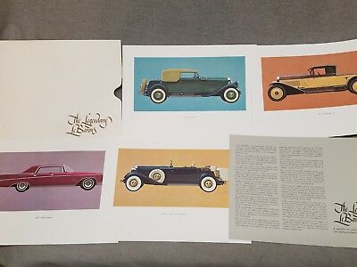 Vintage The Legendary LeBarons Prints Chrysler 1931 Pierce Arrow