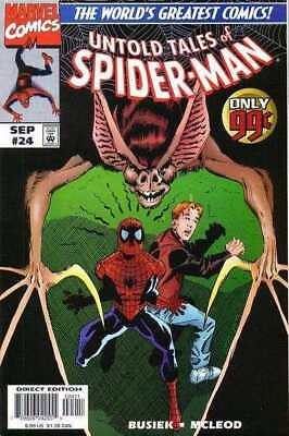 Untold Tales of Spider-Man #24 in Near Mint minus condition. Marvel comics