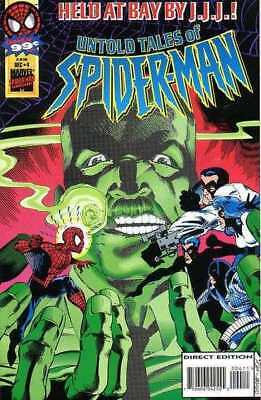 Untold Tales of Spider-Man #4 in Near Mint minus condition. Marvel comics