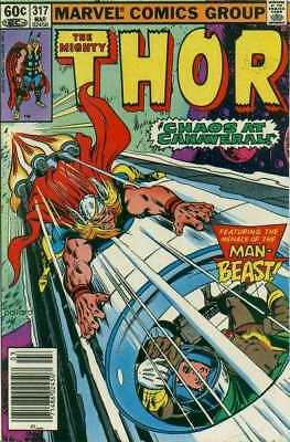 Thor (1966 series) #317 in Very Fine minus condition. Marvel comics