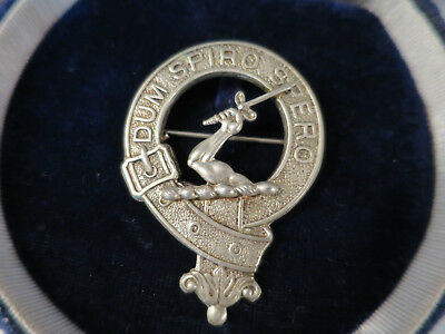 Vintage Celtic Scottish Clan Brooch, Early 1900's, Made In Great Britian