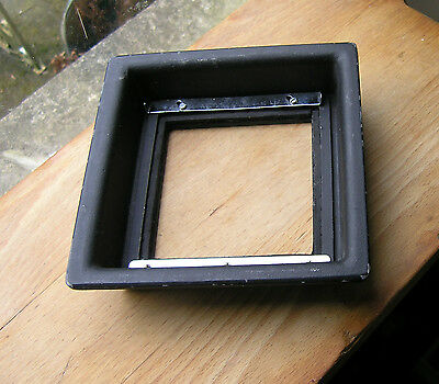"Calumet C1 8x10 metal 6"" 151mm square recessed 32mm adapter Lensboard  C1-10-59C"