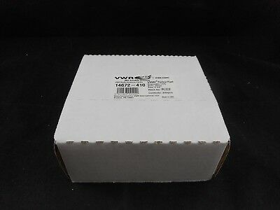 "VWR Glass Disposable Pasteur Pipet 5-3/4"" Cotton Plug Approx. 200 14672-410"