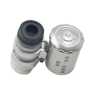 New Cell Phone Magnifier Microscope Micro Lens 60X Optical Zoom Telescope Camera