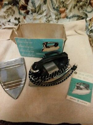 General Electric GE Vintage Steam & Dry Iron Cat. No. F50