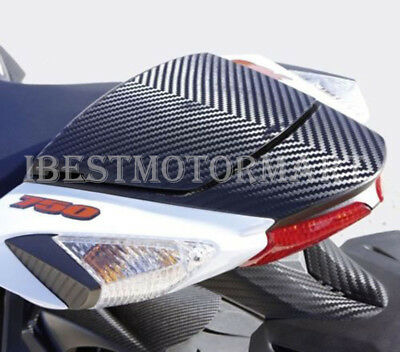 Carbon Look Rear Seat Cowl Cover Pillion For Suzuki GSXR 600 750 2011-2016